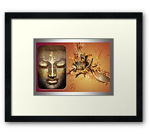 Buddha Abstract Framed Print