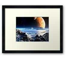 The Arena at Perusia Framed Print