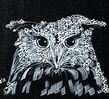 Snow Owl by hoshidee