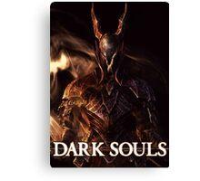 Dark Souls Black Knight Print Canvas Print