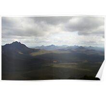 Stirling Ranges in Storm Poster