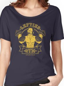 LEFTIES GYM Women's Relaxed Fit T-Shirt