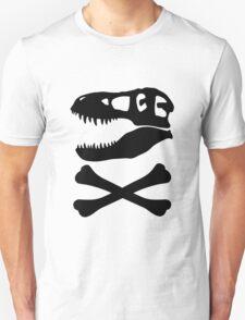 T-Rex Skull & Crossbones T-Shirt