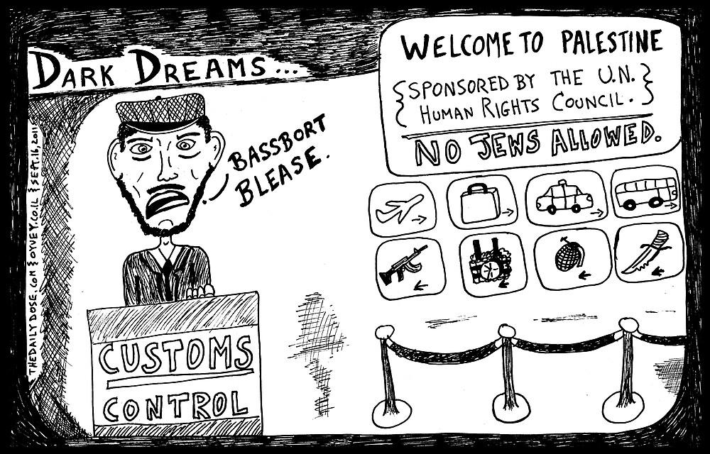Dark Dream - Welcome to Palestine by bubbleicious