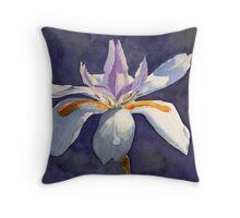Native Iris Throw Pillow