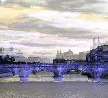Parisian Mosaic - Piece 26 - La Seine by Igor Shrayer