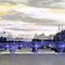 Parisian Mosaic - Piece 26 - La Seine by Igor Shrayer