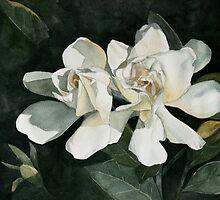 Gardenia Duo 1 by Jan Lawnikanis