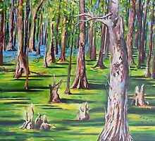 Swamp Forest by Cathy Gilday