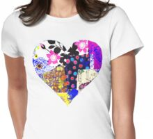 Heart2 Womens Fitted T-Shirt