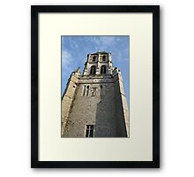 Church Tower  - Orbec Framed Print