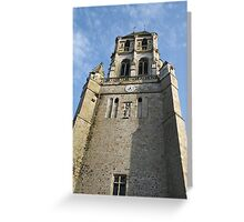 Church Tower  - Orbec Greeting Card