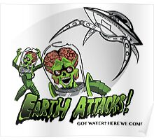 Earth Attacks! Poster