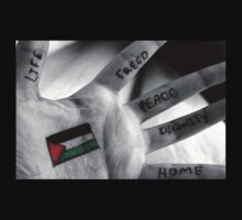 Palestine Hand of Peace by stevegw