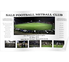 Sale Football Netball Club Poster