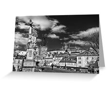 Historical Charles Bridge Greeting Card