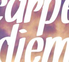 Carpe Diem Clouds Sticker