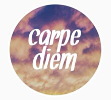 Carpe Diem Clouds One Piece - Short Sleeve