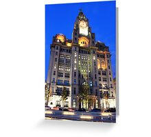 Liver Buildings Greeting Card