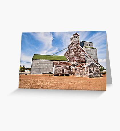 GTA Elevator, Flaxville, Montana, USA Greeting Card