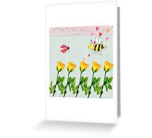 Mr B and Mrs C Greeting Card