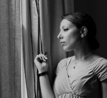 Thinking of Someone by Irina Chuckowree