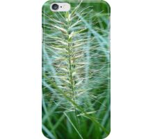 Flowering Grass Spike iPhone Case/Skin