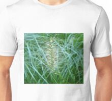 Flowering Grass Spike Unisex T-Shirt