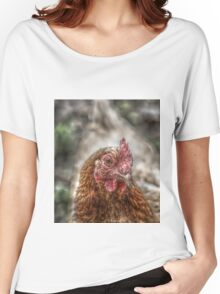 Chicken HDR style Women's Relaxed Fit T-Shirt