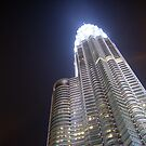 Glowing Petronas Tower by cupofmanatee