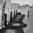 Promenade Cafe Shadows. by Jazzdenski