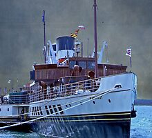 the paddle steamer Waverley (2) by dmacwill