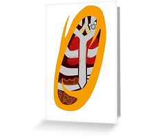 Portal to Your Insides [Orange] Greeting Card
