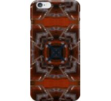 Burnt Siena and Brown Pattern iPhone Case/Skin
