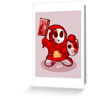 Shyguy the 13th Greeting Card