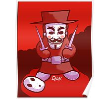 Shyguy Fawkes Poster