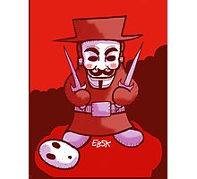Shyguy Fawkes Photographic Print