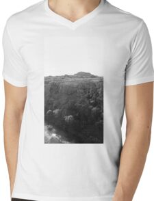 Wichita Mountains Mens V-Neck T-Shirt