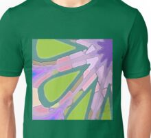 Pink Green Cut Outs Unisex T-Shirt