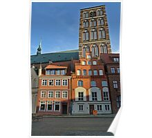 MVP94 Alter Markt Stralsund, Germany. Poster