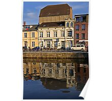 MVP98 Stralsund Harbour, Germany. Poster