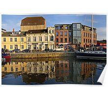 MVP99 Stralsund Harbour, Germany. Poster