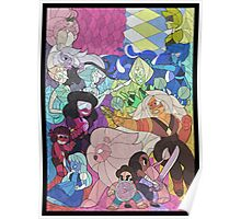 Steven Universe Stained Glass Poster