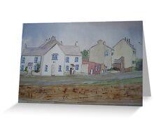 Cappa village, Kilrush Greeting Card