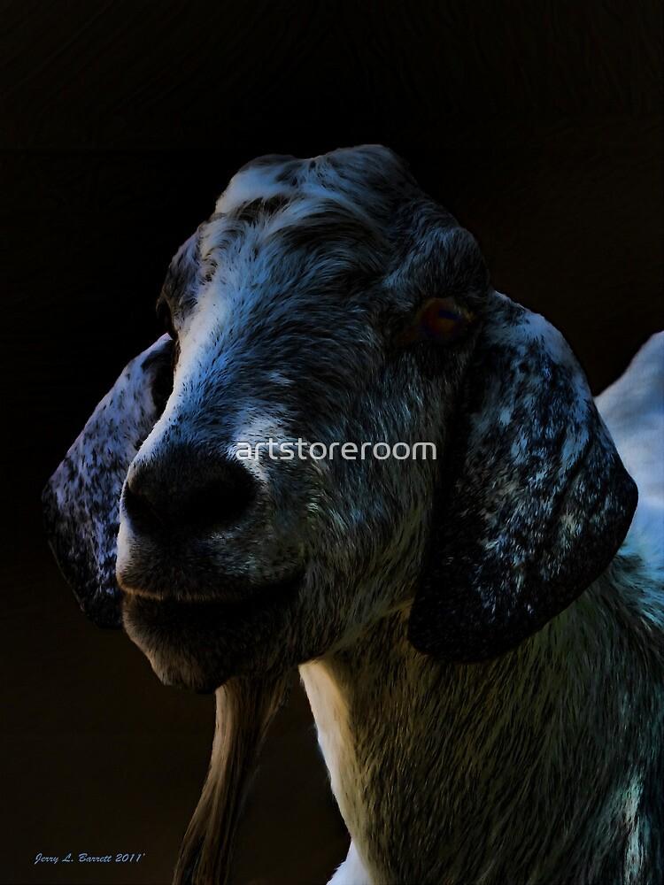 Goat Portrait by artstoreroom