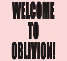 Welcome to Oblivion Kids Tee