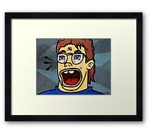 OH MAH GAAWW... Framed Print