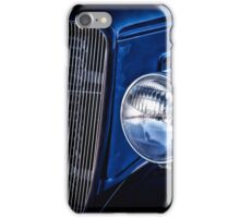 Classic Denim Blue - Classic Car iPhone Case/Skin