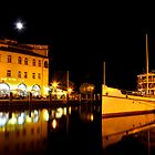 Night time in Riva del Garda by Martina Fagan