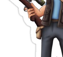 Team Fortress 2 Sniper  Sticker